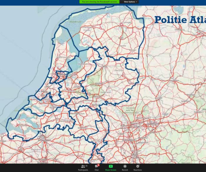 Geo-informatievoorziening Nationale Politie