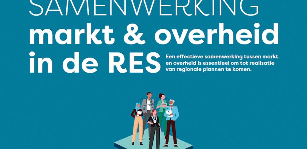 Factsheet Samenwerking Markt & Overheid in de RES.